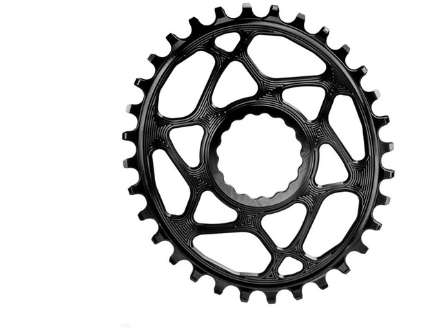 absoluteBLACK Ovaal Kettingblad voor Race Face Cinch Spiderless, black